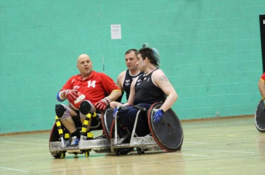 NEW WHEELCHAIR FOR THE DORSET DESTROYERS